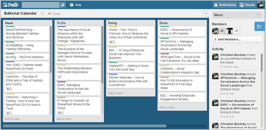 Using Kanban In Your SharePoint Environment - buckleyPLANET
