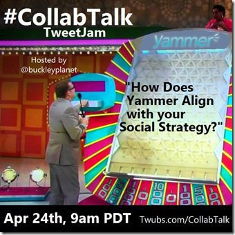 April 2015 CollabTalk tweetjam