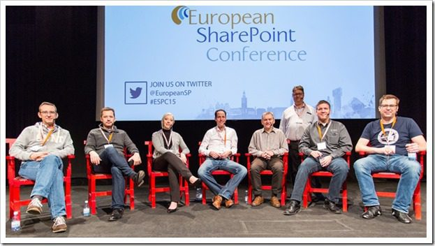 cbuck in panel at ESPC15 in Stockholm