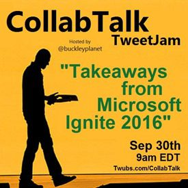 CollabTalk tweetjam Sep 2016