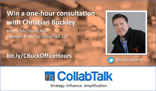 Cbuck office hours promo2
