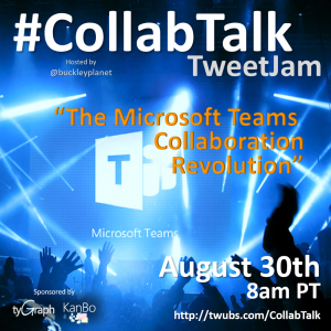 August 2017 CollabTalk TweetJam