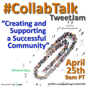 CollabTalk TweetJam on Creating and Supporting a Successful Community