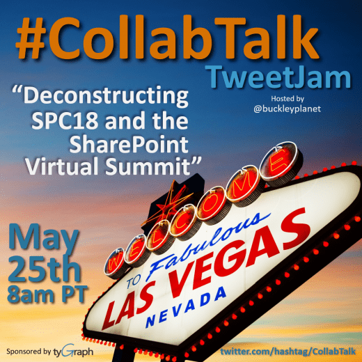 CollabTalk TweetJam for May 2018