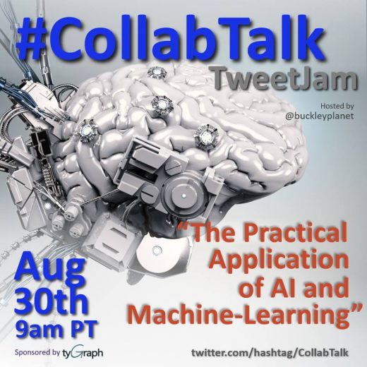 CollabTalk tweetjam - The Practical Application of AI and Machine-Learning