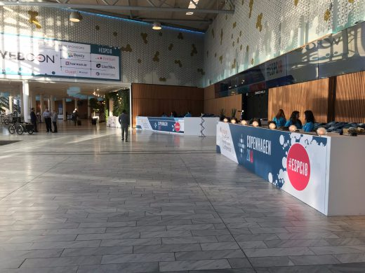 #ESPC18 registration desk