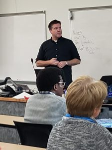 Christian Buckley presenting at SPSTC, November 2018