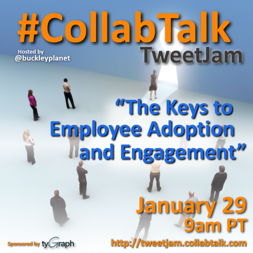 January 2019 CollabTalk TweetJam on the Keys to Employee Adoption and Engagement
