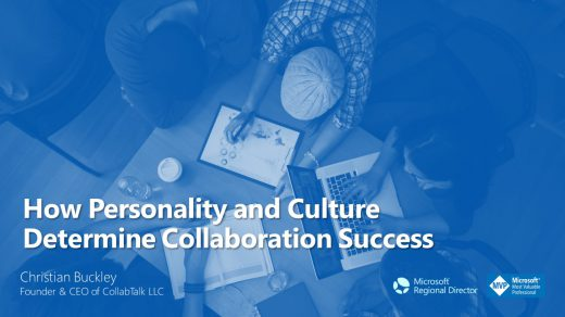 How Personality and Culture Determine Collaboration Success