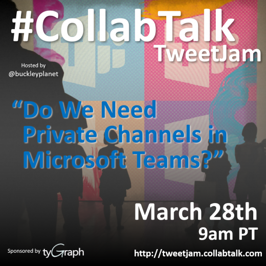 March 2019 CollabTalk TweetJam