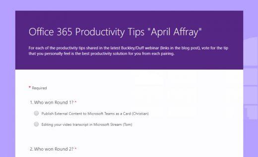 Microsoft Teams Archives - buckleyPLANET