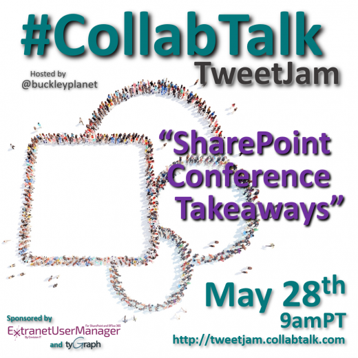 CollabTalk TweetJam May 2019
