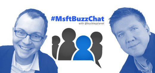 MsftBuzzChat recording with Tom Resing
