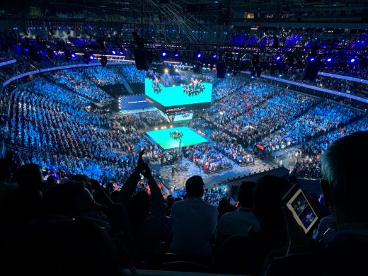 Microsoft Inspire 2019 keynote celebration