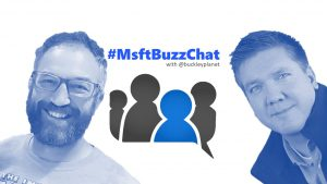 MsftBuzzChat interview with Mark Kashman