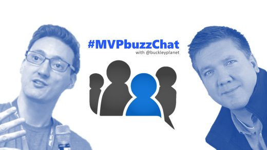 #MVPbuzzChat with Office Apps & Services MVP Rene Modery