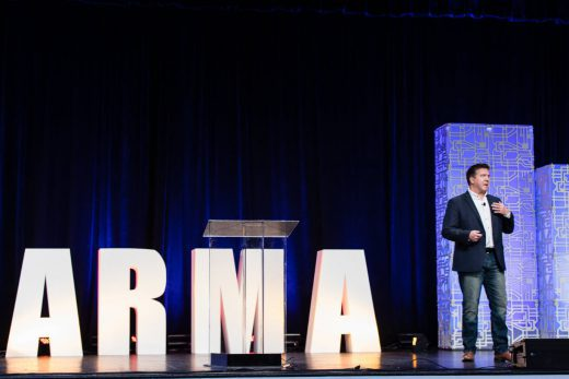 Keynoting the ARMA Conference 2019 in Nashville, TN
