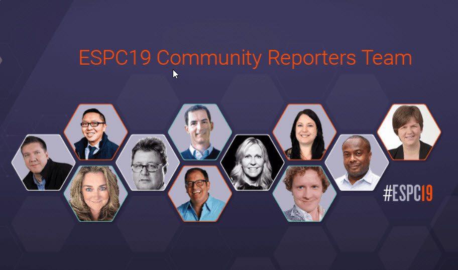 #ESPC19 Community Reporters