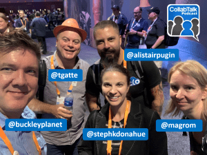 CollabTalk Podcast at #MSIgnite on How to become a Microsoft MVP or RD