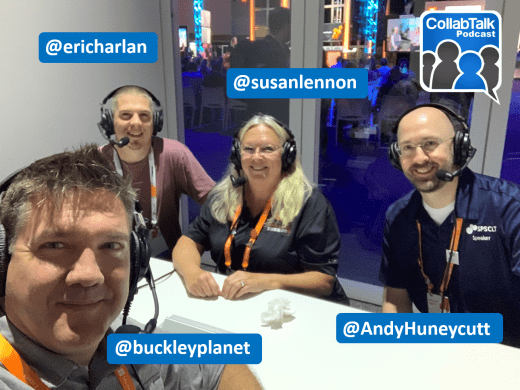 CollabTalk Podcast on Building Community at MSIgnite