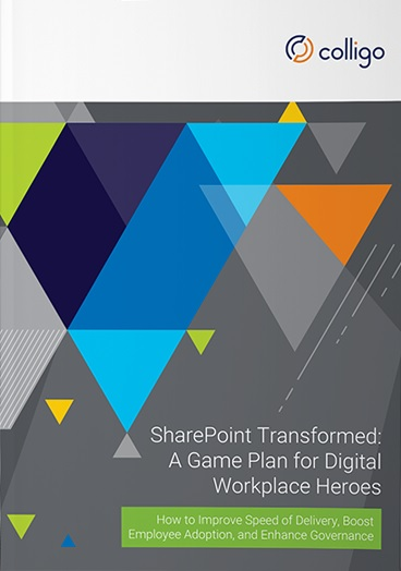 SharePoint Transformed Colligo ebook