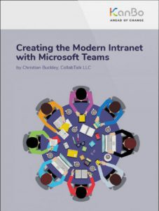 Creating the Modern Intranet with Microsoft Teams