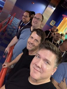 Having fun with friends at MSIgnite19