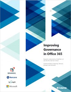 Improving Governance in Office 365