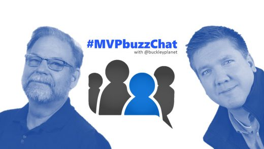 #MVPbuzzChat interview with Paul Stork (@pstork)