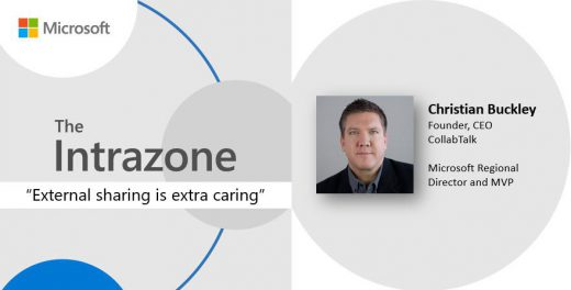 Interviewed for The Intrazone Podcast with Mark Kashman and Chris McNulty
