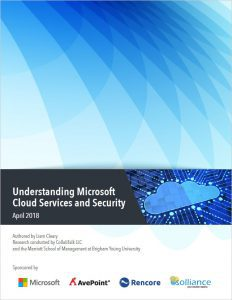 UNDERSTANDING MICROSOFT CLOUD SERVICES AND SECURITY