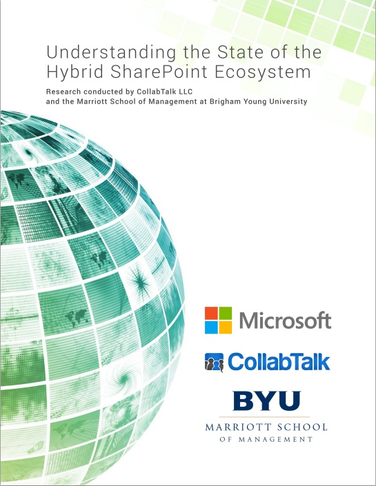 Understanding the State of the Hybrid SharePoint Ecosystem_research report