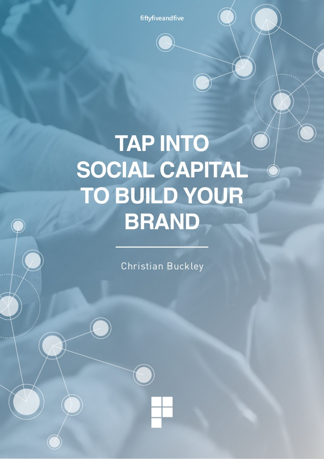 Tap into Social Capital to Build Your Brand cover