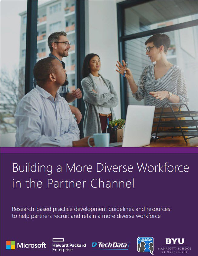 Building a More Diverse Workforce in the Partner Channel - research by CollabTalk LLC
