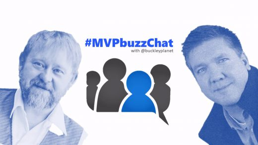#MVPbuzzChat with Cloud and Datacenter Management MVP Mick Pletcher