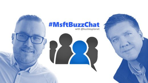 #MsftBuzzChat interview with Microsoft's Jon Levesque