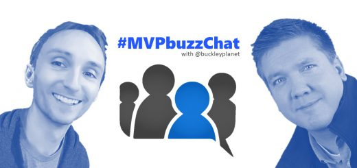 #MVPbuzzChat with Office Apps & Services MVP Tom Daly