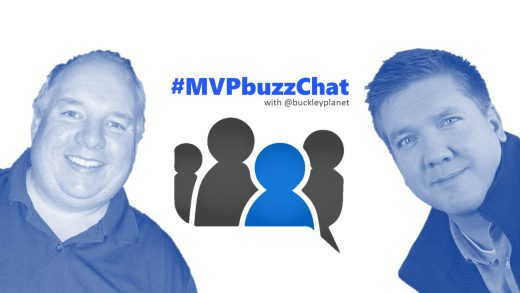 #MVPbuzzChat with Office Apps & Services MVP Rob Windsor