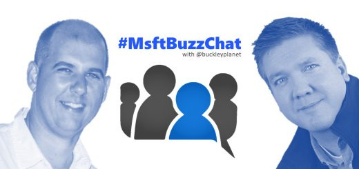 #MsftBuzzChat interview with Chris Bortlik