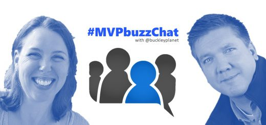 #MVPbuzzChat with Julie Turner
