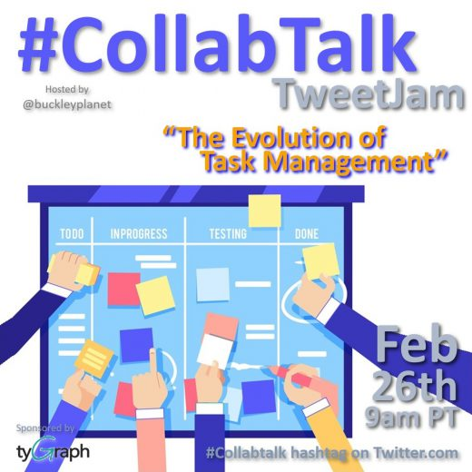 February 2020 #CollabTalk TweetJam