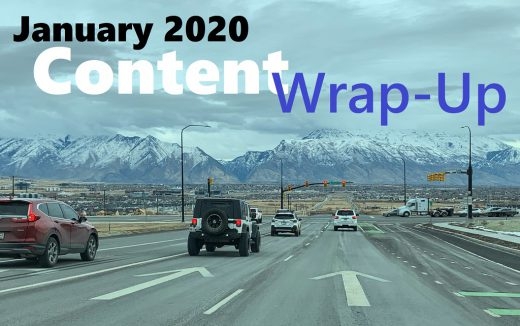January 2020 Content Wrap-Up for buckleyplanet.com
