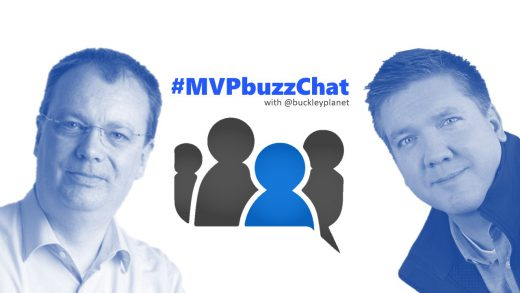 #MVPbuzzChat with Office Apps & Services MVP Oliver Wirkus