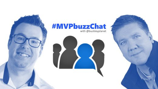 #MVPbuzzChat with Office Development MVP Sébastien Levert