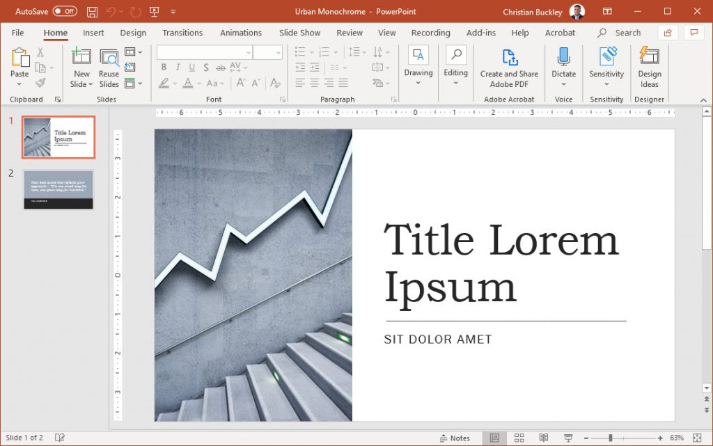 Reusing PowerPoint slides