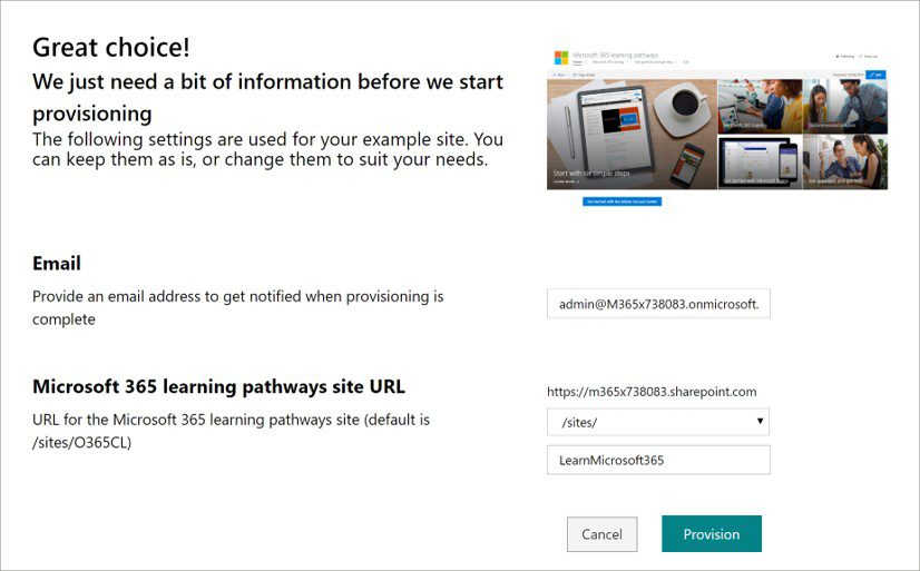 Build your own Learning Portal with Learning Pathways