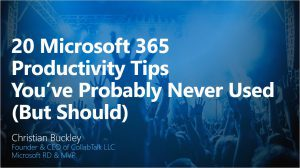 20 Microsoft 365 Productivity Tips You've Probably Never Used But Should