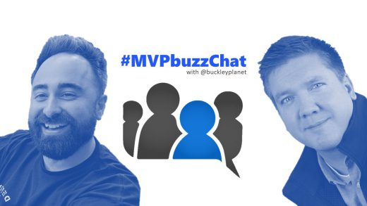 #MVPbuzzChat interview with Office Apps & Services MVP and Regional Director Benjamin Niaulin