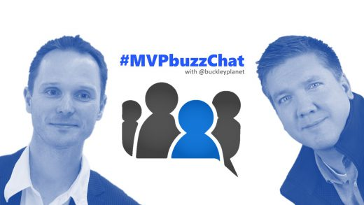 #MVPbuzzChat with dual-MVP in Azure and Development Technologies and Microsoft Regional Director Rainer Stropek