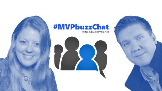 #MVPbuzzChat interview with Microsoft Regional Director Sharon Weaver